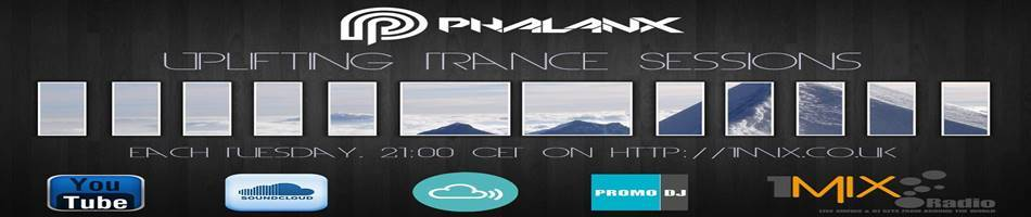 DJ Phalanx Mountains wallpaper 950x200